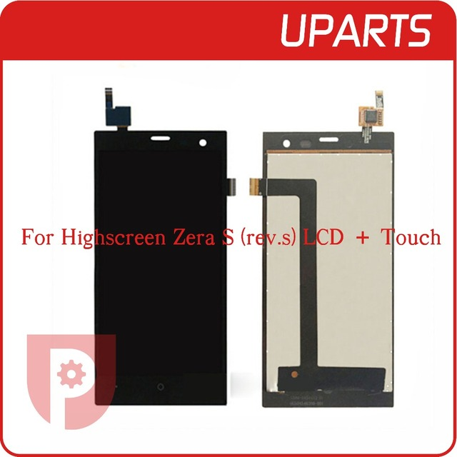 Nueva marca de Alta Calidad Para Highscreen Zera S (rev. s) Pantalla LCD + Asamblea de Pantalla Táctil LCD de Cristal Digitalizador Reemplazo Del Panel