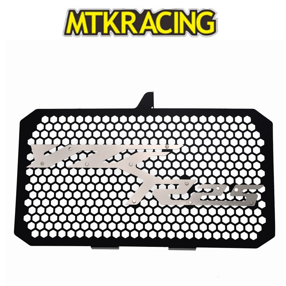 MTKRACING Aluminum Motorcycle Radiator Guard Grille Protection Water Tank Guard For <font><b>YAMAHA</b></font> YZF-<font><b>R25</b></font> yzf <font><b>r25</b></font> YZF <font><b>R25</b></font> 2018 <font><b>2019</b></font> image