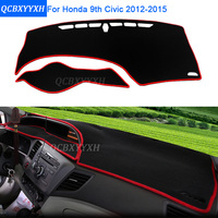 Car Styling Dashboard Protective Mat Shade Cushion Photo Phobism Pad Interior Carpet For Honda 9th Civic