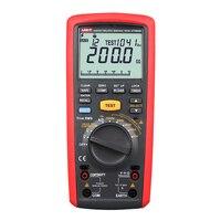 Uni t UT505B Handheld Digital Insulation Tester Megger MegOhm Meter leakage current test Fuse self test Freq and Cap Test