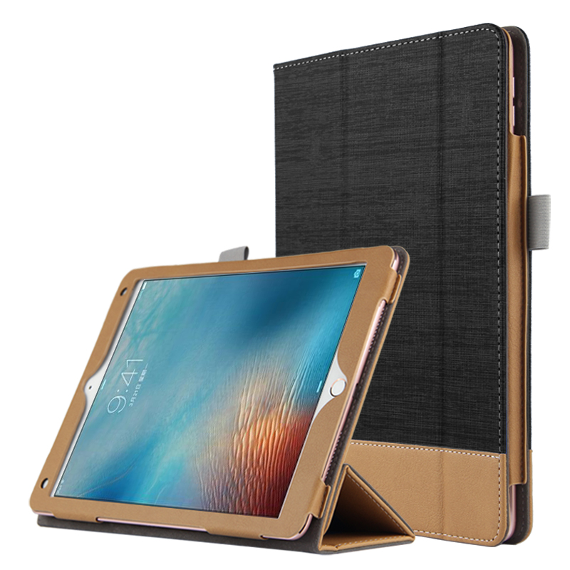 Case For Apple iPad Pro 9.7 Protective Case Smart cover Stand Card Leather tcovers For iPad Pro 9.7 inch Tablet Cover Protector official original 1 1 case cover for apple ipad pro 12 9 2017 cases tpu smart clear cover for ipad pro ipad plus 12 9 2015 case