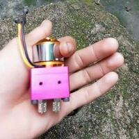 Mini Brushless Hydraulic Oil Pump for 1/14 Hydraulic Rc Excavator TAMIYA Trailer RC Car Parts
