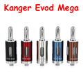 100% Подлинная Kanger Evod Мега Распылитель Kangertech Evod Мега Электронная сигарета 2.5 мл бак, пригодный для Evod мега комплект свободный корабль (1 шт./год)
