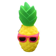 Toys Pineapple Squishy Slow Rising Decompression Toys Easter Gift Phone Strap Environmentally Pineapple Decompression Toys
