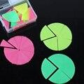 Colored Plastic Fractional Sheet Geometry Chart Model Montessori Mathematics Teaching Aids Set Round Platter HOT