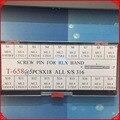 90 Pins Tornillo Enlaces para rlx Reloj Bandas/Pulseras/Correas Conjunto de Diferentes Tamaños para la Reparación Del Reloj