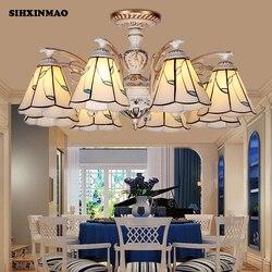 Dom w stylu śródziemnomorskim żyrandole pokój dzienny sypialnia jadalnia studium u nas państwo lampy oświetlenie obiektów handlowych