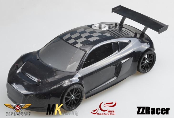 MK 1/10 Nitro Power GO18 Engine High Speed Flat car Drift car Metal differential двигатель super tigre 18 nitro купить