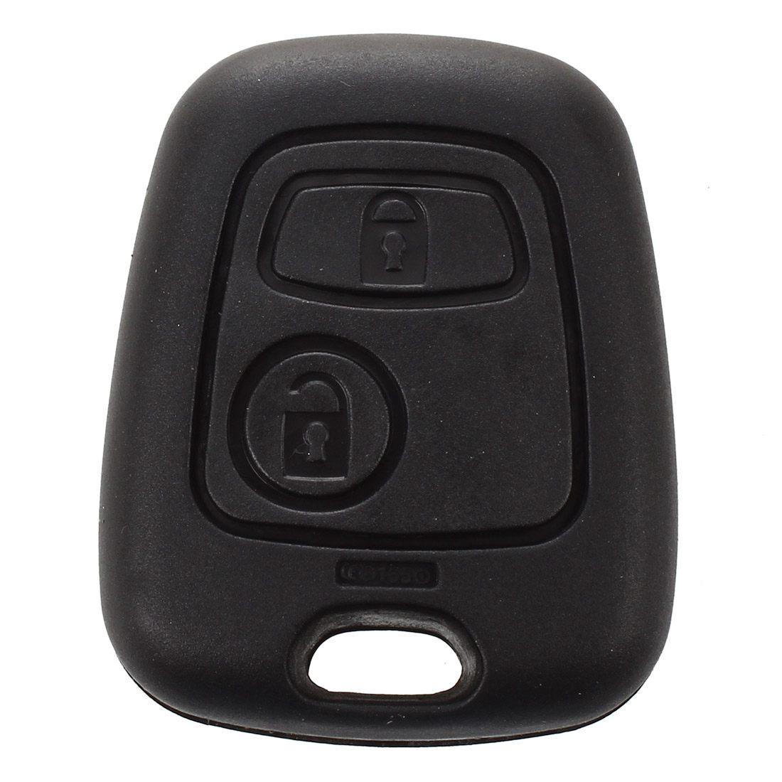 Jfbl Hot 2 Knop Afstandsbediening Sleutel Geval Shell Voor Citroen C1-c4 Peugeot 107 207 307 407 206 306