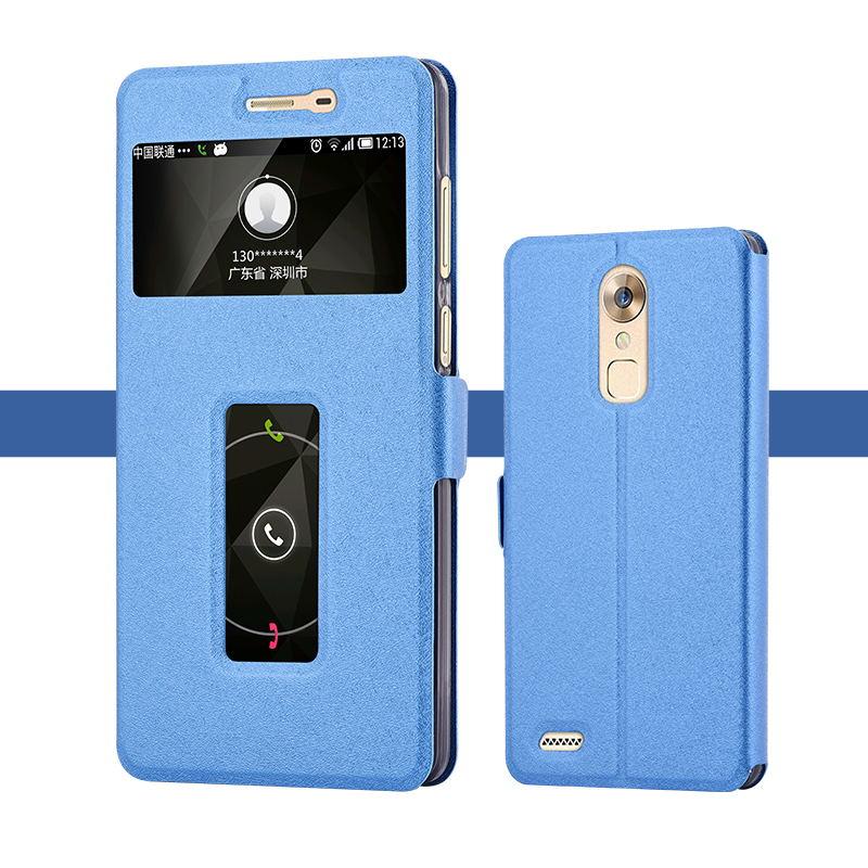 52d633214448 ZTE Axon MAX cas ouvert la fenêtre flip étui pour 6.0 pouce 3 GB RAM 32 GB  ROM Mobile Téléphone par livraison gratuite