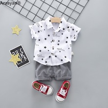 Kids Baby Boy Casual Clothes Pants 2Pcs/Set
