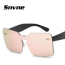 Snvne gafas de Sol de Moda sin marco gafas de sol para mujeres de los hombres gafas de sol oculos lunette de soleil feminino hombre KK162