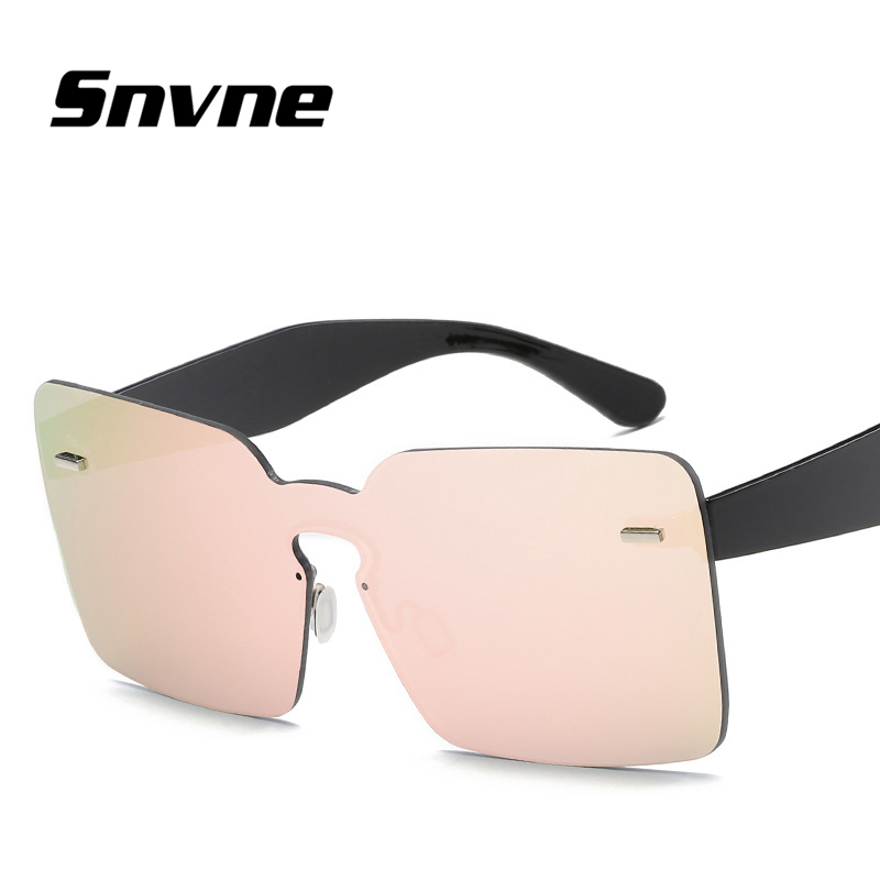 Snvne Sun glasses Fashion without frame sunglasses for men women ...