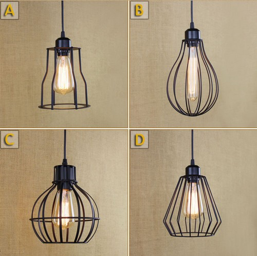 Loft Iron Art Droplight Edison Vintage Industrial Lighting Pendant Light Fixtures For Dining Room Hanging Lamp Lampara Colgante iwhd rust retro vintage pendant lights led edison style loft industrial lamp metal iron rustic hanging light lampara colgante