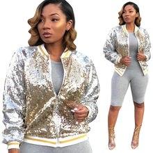 7e4e5a9747 Womens Glitter Jackets Promotion-Shop for Promotional Womens Glitter ...