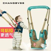 طفل مقاليد تسخير للمشي القطن شبكة الأطفال المقود ظهره للأطفال عصا الرافعة المشي مساعد الاطفال سلامة تسخير