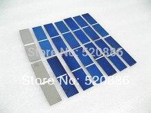 20pcs polycrystalline solar cells- 78x19mm solar cell A grade 0.25w/pc to DIY 5w solar panel