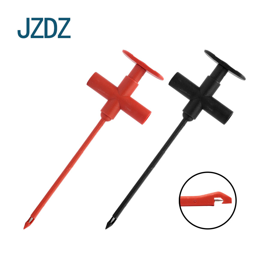 JZDZ J 30022 Aircraft type safety insulation non breakage test clip automobile puncture wire harness test clip in Connectors from Lights Lighting