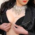 Sensación de tacto Realista G Taza 1600g Adhesivo de implantes mamarios Falsas Formas de Pecho de Silicona Crossdress Travesti de usuario