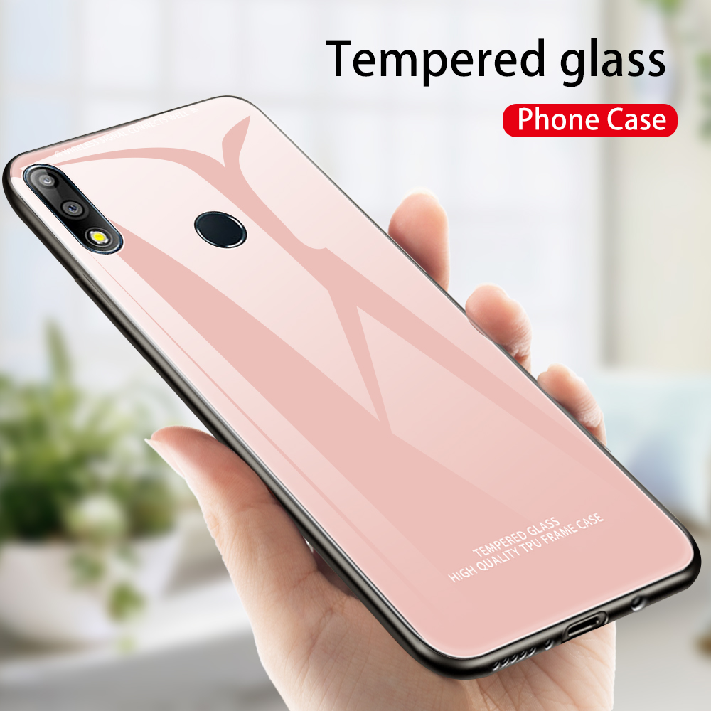Tempered Glass Phone Case For Asus Zenfone Max M2 ZB633KL For Asus Zenfone Max Pro M1 ZB601KL ZB602KL Max Pro M2 ZB631KL