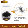 2pcs Loose Eyelash Individual Eyelash Extensions False Flare Lashes Cluster  Bulk Eyelash 0.15/0.20 8-13mm