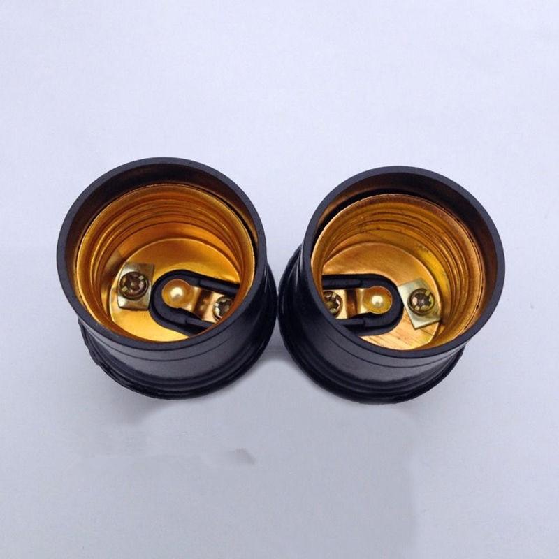 5/10 шт E27 3/4A светильник лампа Цоколи держатель кулон Эдисона винт цоколь Винтаж цоколь лампы