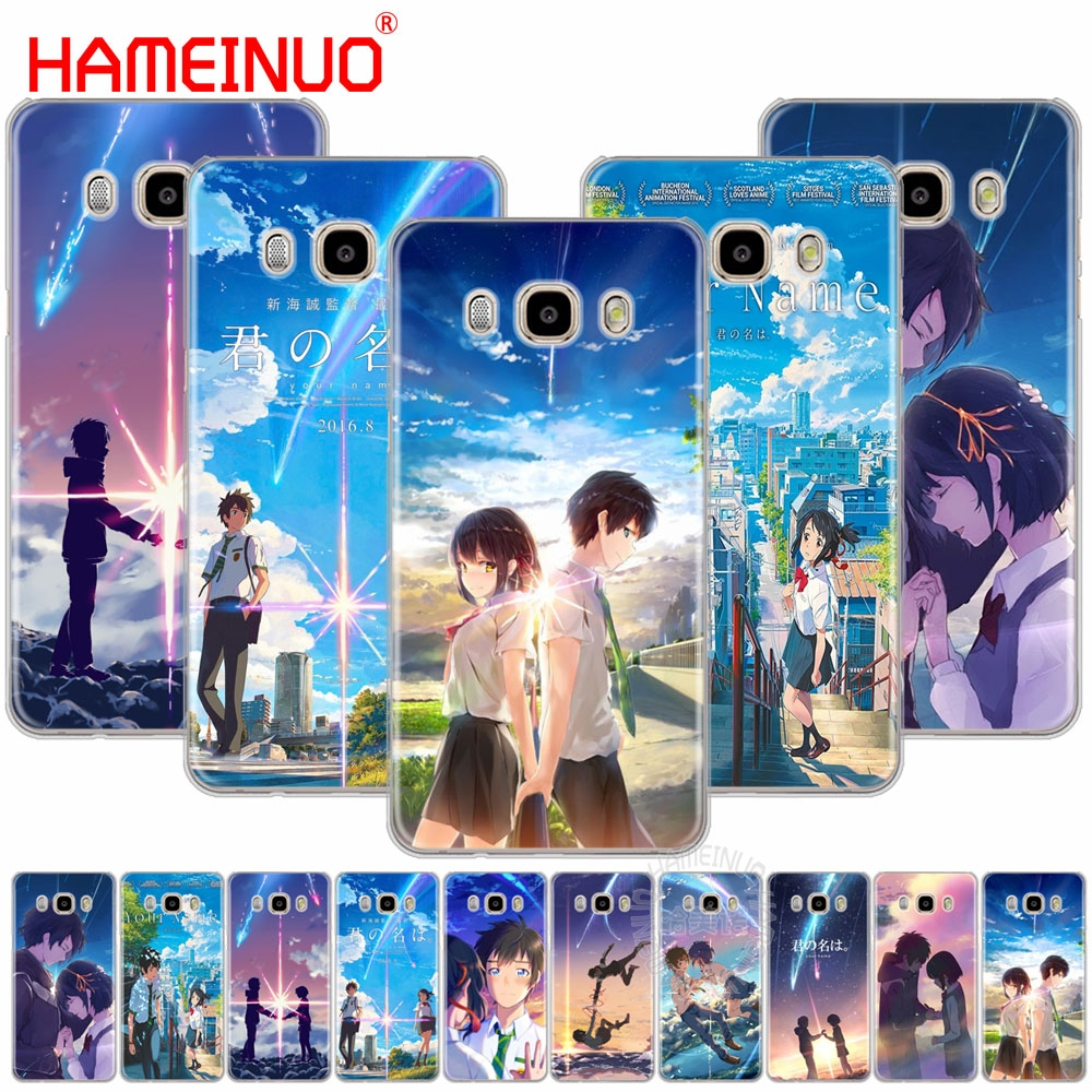 HAMEINUO Your Name Anime Coque cover phone case for Samsung Galaxy J1 J2 J3 J5 J7 MINI ACE 2016 2015 prime