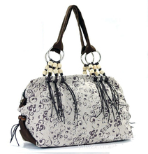 2016 Ladies New printed canvas bag Printed handbag Printing bag Women's shopping bag