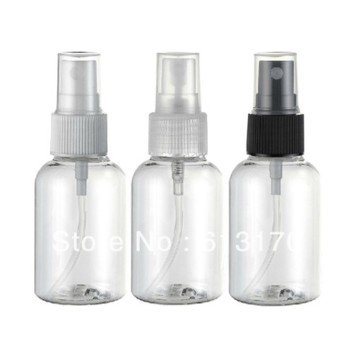 50ML PET spray bottles,Empty clear atomizer bottle,Cosmetic Packing container Free shipping