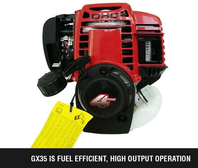 6 in 1 Decespugliatore a gas a 4 tempi GX35 Motore Strimmer per - Attrezzi da giardinaggio - Fotografia 4
