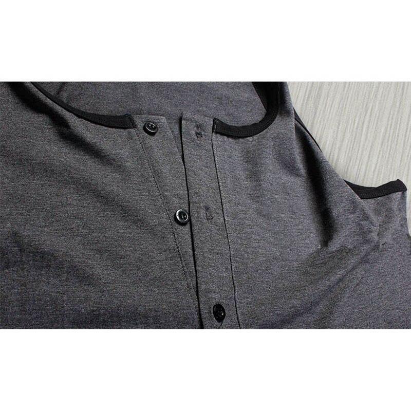 Slimming corset body shaper shapewear faja hombre cotton shirt bodysuit mens underwear camisa masculina body suits sleepwear 5