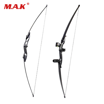 2 Style 17 inches Riser 35 lbs Recurve Bow with Straight Pull Bow 55 Inches Archery Bow accessories for Hunting Shooting