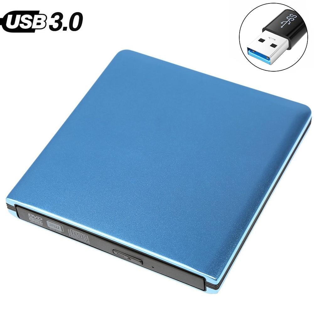 Dla Mac laptopa PC Win XP/7/8/10 HP ASUS USB 3.0 zewnętrzny ODTWARZACZ DVD 8X DVD-ROM combo czytnik 24X CD-R palnika Slim napęd optyczny