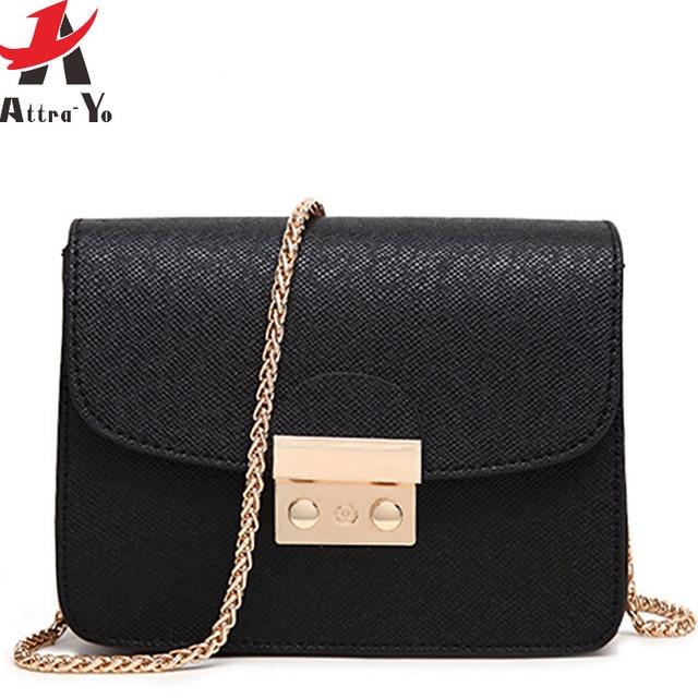 Atrra-Yo women bags ladies women leather handbags designer messenger bags summer style mini chain bag bolsas fashion LS8927ay