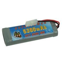 7.2 В 3800 мАч/5300 мАч Ni-MH аккумулятор ультра-большая емкость для Радиоуправляемая модель автомобиля Корабль Танк общие бесплатная доставка