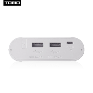 Image 5 - TOMO 18650 Lithium battery charger M4 DIY display powerbank storage case 2A output max