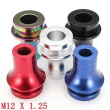 M12 x 1.25 Thread Car Auto Aluminum Manual Gear Shift Knob Boot Retainer Adapter