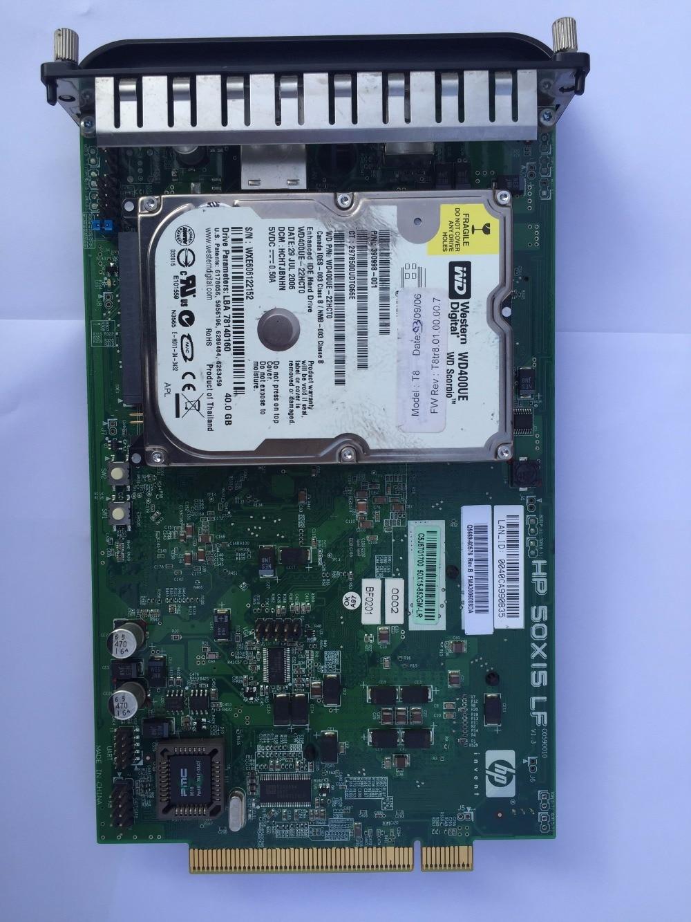 все цены на Q5669-60576 Formatter Board w/Hard Drive Caddy FOR HP Designjet Z3200 Z3100 онлайн