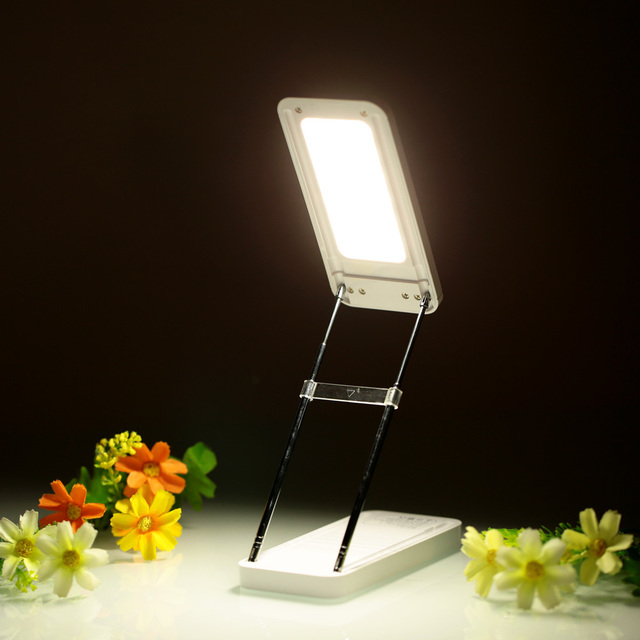 lixada rechargeable adjustable foldable led table desk reading lamp multifunctional power bank light touch switch for aliexpresscom buy foldable office table desk