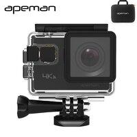 Apeman פעולה A80 4 K Wifi פעולה מצלמת hd מצלמה עמיד למים מקרה מצלמה ספורט וידאו עם 20mp מצלמת וידאו חדש אחד סוללה