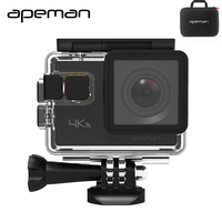 Apeman Action Camera A80 4K Wifi Action Cam Hd Waterproof Sport Video Camera With 20mp Camcorder