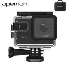 Apeman Action Camera A80 4K Wifi Action Cam hd Waterproof Sport Video Camera  With 20mp Camcorder New Camera Case One Battery