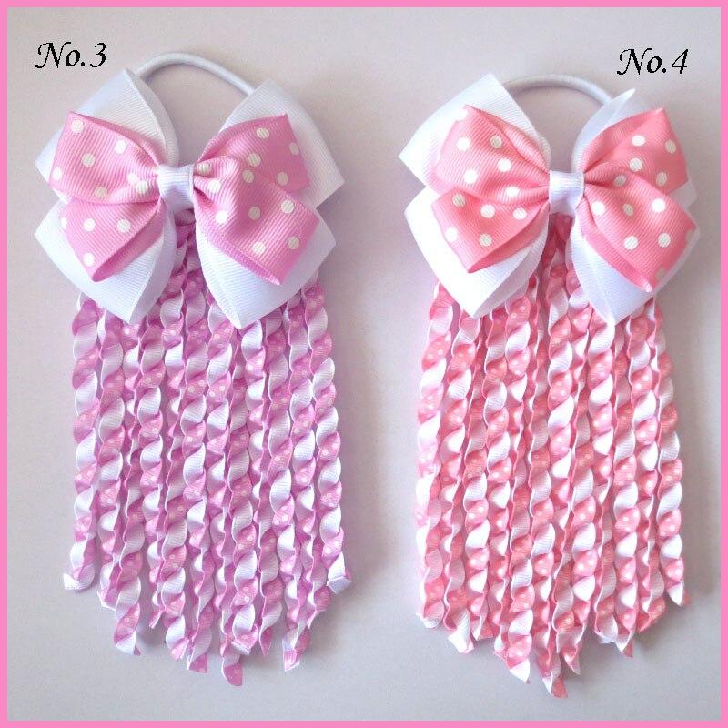 200 Good Girl Costume Boutique 4.5 Inch ABC Hair Bows clip 474 No.