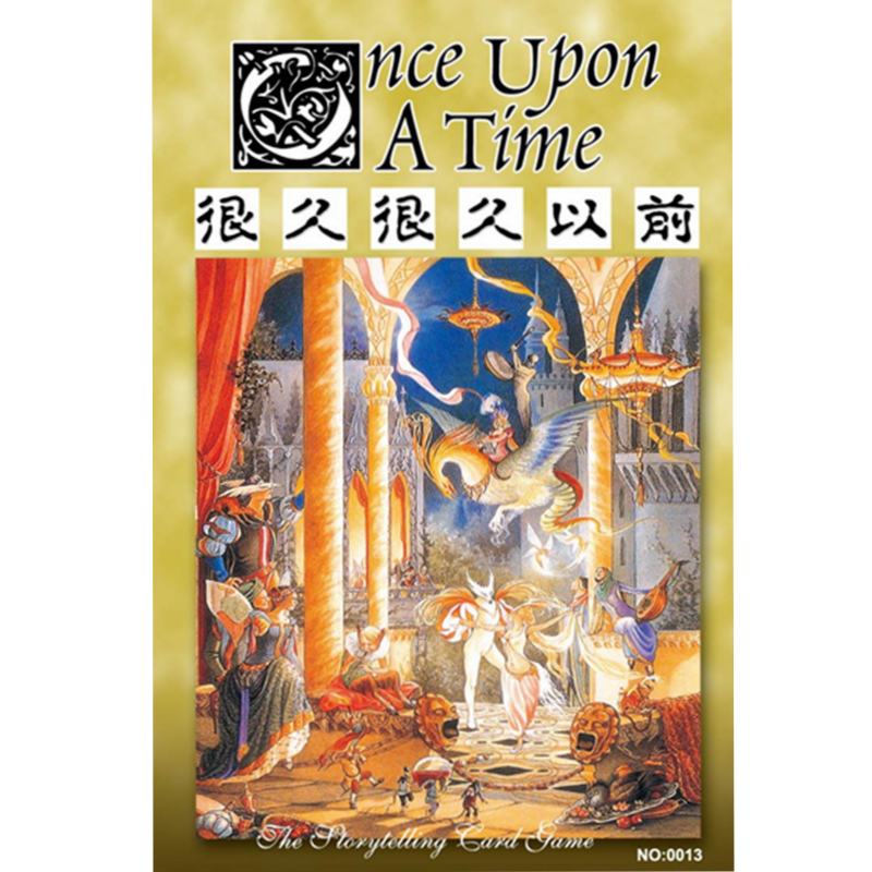 Once Upon A Time Board Game For 2-6 Player party Leisure Puzzle Game Family Filial Play indoor games