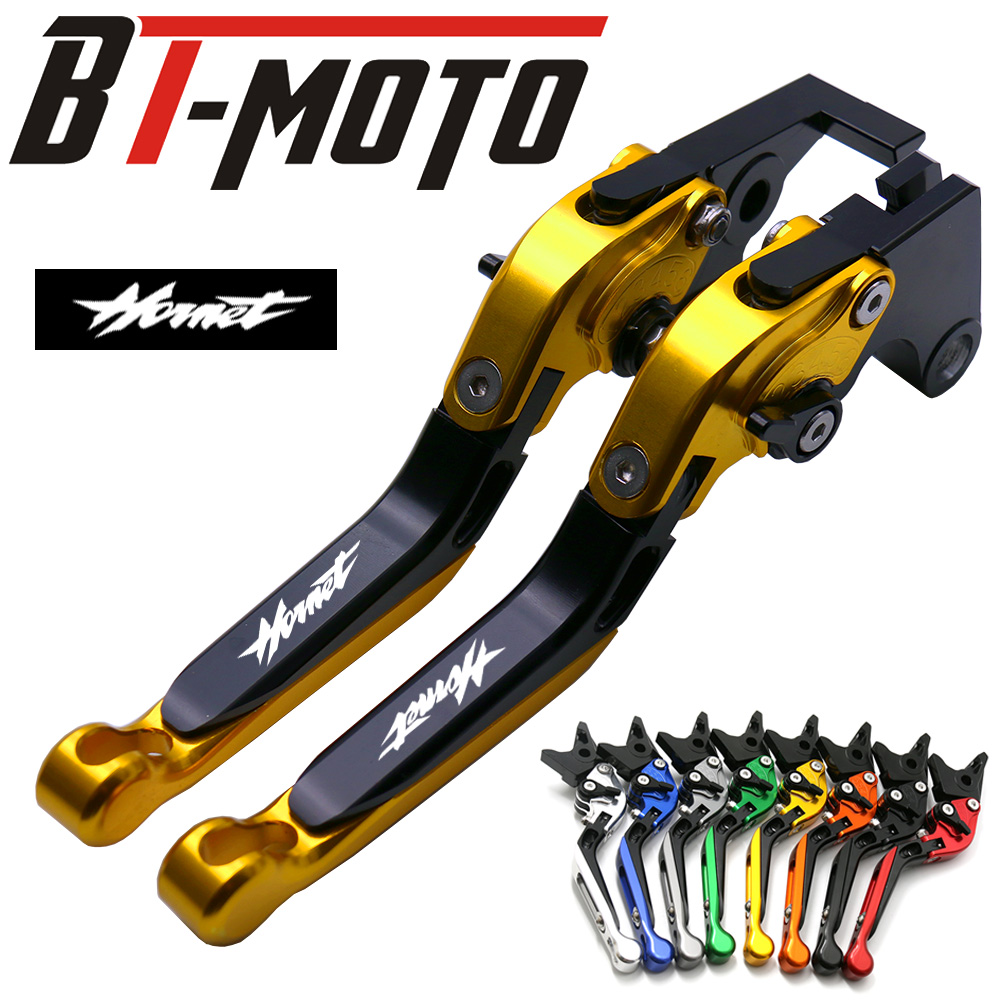 Motorcycle Folding Extendable Brake Clutch Levers For HONDA CB 599 CB 600 98 06 CBR 600 F2.F3.F4.F4i 91 07 Hornet CB919 02 07