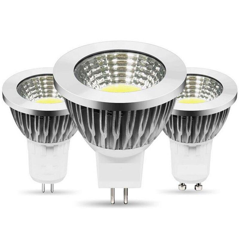 MR16 COB LED Lamp 12V MR16 GU10 E27 9W 12W 15W 20W 25W Warm White 2700K 3000K 4500k 6000k Cool White Spot Light Bulb Lamp