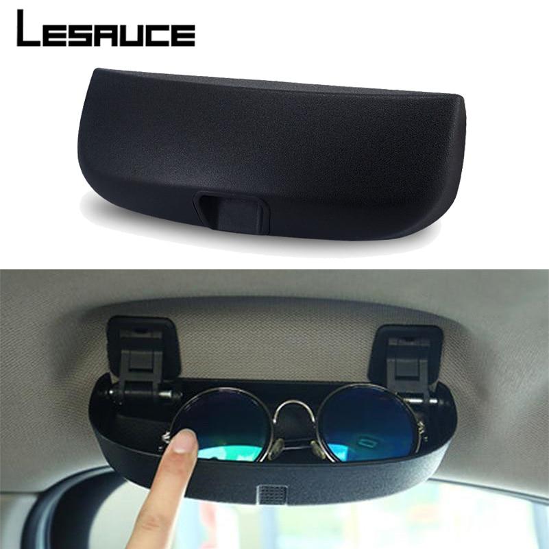 Car Glasses Case for Mercedes Benz W203 W204 W205 W210 W124 W212 W211 C E Class Accessories Sunglasses Holder Storage Box очки мерседес