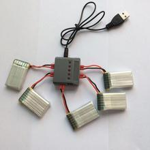 1 Pour 5 Batterie Chargeur Pour Syma X5uw X5uc X5hw X5hc X5a-1 Multi-chargeur Rc Drone Accessoires Pièces Hélicoptère Quadcopter Kits