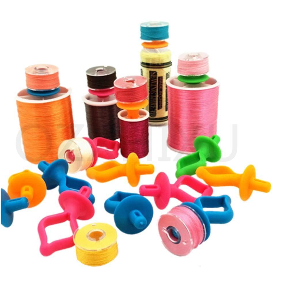 24 Pcs Bobbin Huggers Holder for Seamstress Sewing Quilting Supplies