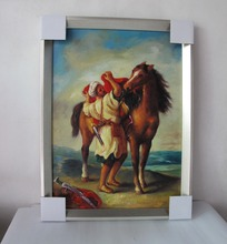 Framed Arabian oil paintings wall pictures for living room canvas painting art